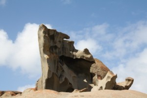 One of the Remarkable Rocks