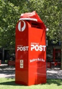 Australian Christmas Postbox