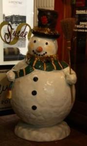 Snowman In Cairns